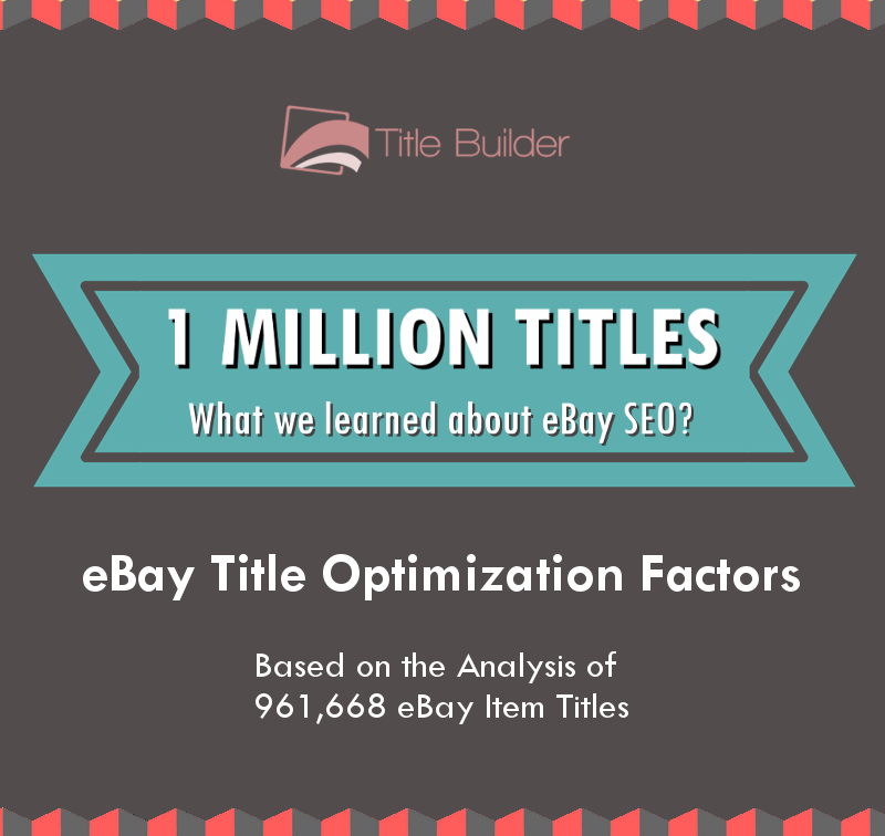 We Analyzed 961,668 eBay Item Titles  Here's What We Learned